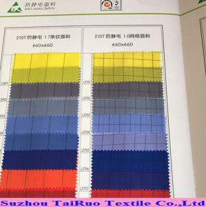 Anti tessuto statico 100% del poliestere ESD per il Workwear funzionale del locale senza polvere