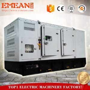 セリウムISO Standar 350kw 437.5kveはまたは無声タイプディーゼル発電機開く