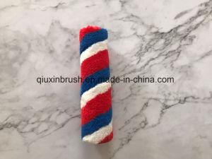 9) синий и красный полосой акрилового волокна краски роликовой щетки с хорошим качеством