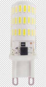 4W 405lm base de silicone G9 Lâmpada LED