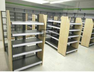 Heißes Verkaufs-Supermarkt-Doppelt-Seiten-Netz-Rückplatten-Regal in China