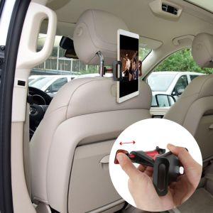 Apoyacabezas del asiento de coche ajustable Soporte para iPad Mini Tablet GPS teléfono