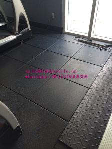 En1177 de in openlucht Zachte Elastische Tegels van de Vloer van de Gymnastiek van de Speelplaats Rubber