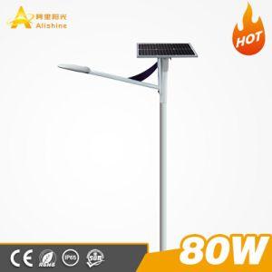 20W-80 W Semi-Seprated panel solar integrado ajustable de las luces de calle luz LED