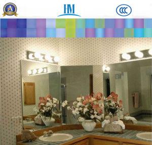 Specchio/stanza da bagno/mobilia di alluminio/specchio d'argento libero/specchio argento libero del rame