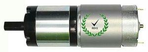 Micro DC Motor reductor de la caja de engranajes planetarios (37GP-555SH)