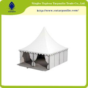 Heiße Verkäufe Belüftung-überzogene Gewebe-Plane für Zelt-Gleis-Plane
