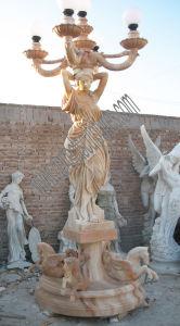 Het tuin Gesneden Beeldhouwwerk van de Lantaarn van de Steen voor Marmeren Snijdend Standbeeld (sy-X1707)
