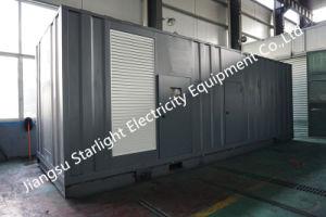 25 Ква-Ква 3125контейнер генераторная установка/Silent генератор/звуконепроницаемых электрический генератор дизельного двигателя
