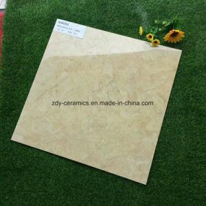 Tegels van de Vloer van de Steen van de Kleur van het Bouwmateriaal de Beige Volledige Opgepoetste Verglaasde Marmeren