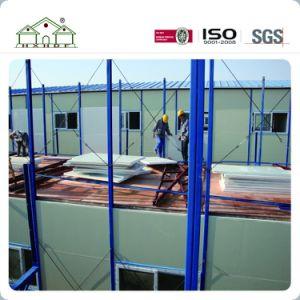Estructura de acero de la luz de la construcción de la casa prefabricados