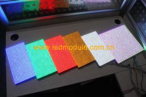 P4.75 Color Único Semi-Outdoor Bus módulo LED de señal
