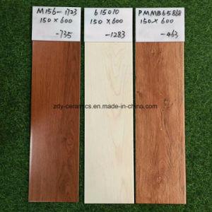 美しい建築材料デザイン陶磁器の木の床タイル