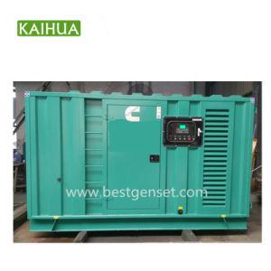 100kVA Diesel die van de container Stille Generators door de Motor van Cummins worden aangedreven