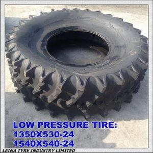 La presión de neumáticos de ultra bajo de rescate militar de neumáticos 1350/530-24