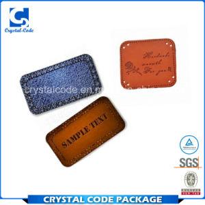Индивидуальной основе кожаные наклейки этикетки