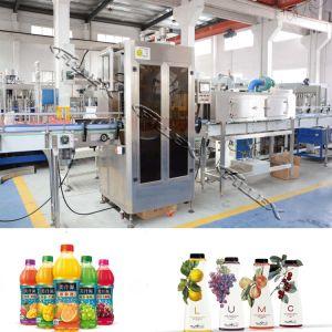 Manguito de cabezal simple reducir el tamaño de la máquina de etiquetado de botella