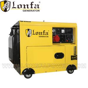 Generatore diesel silenzioso a tre fasi di rame di 100% 6kVA 6kw