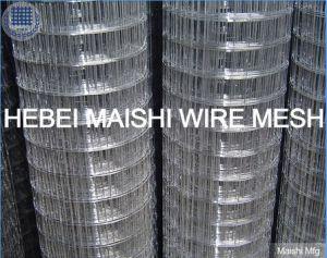 溶接ワイヤの網の後で電流を通されるエレクトロ