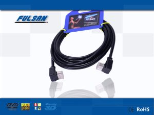 イーサネット3Dの黒2m HDMIケーブル