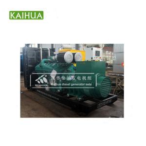 De industriële Open Diesel Genset van het Type 900kw/1125kVA met de Motor van Cummins