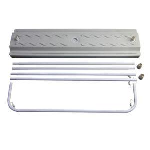 熱い販売の標準ドアの形の立場の表示引き込み式の旗の立場