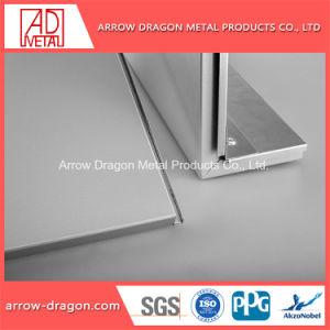 Revestimento metálico alumínio alveolado painéis para decoração de exposições