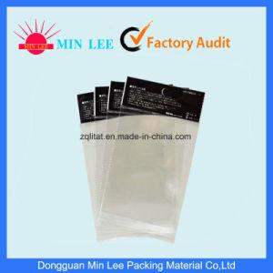머리말을%s 가진 자동 접착 투명한 비닐 봉투를 인쇄하는 BOPP