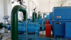 Pompe d'évacuation d'eaux résiduaires d'industrie d'écoulement axial