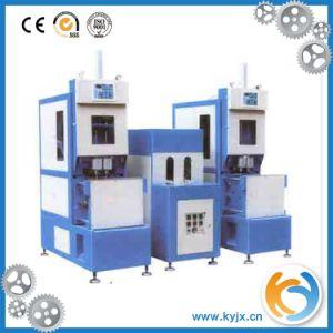 小さいびんのための半自動プラスチックびんの注入形成機械
