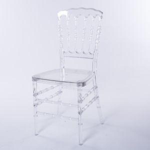卸売価格の耐久の家具アクリルの食事アーム椅子