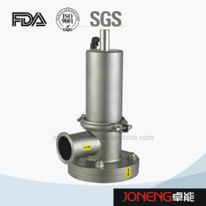 Valvola di parte inferiore di serbatoio sanitaria dell'acciaio inossidabile (JN-DV2008)