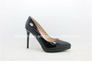 Confort los tacones altos Plataforma Zapatos de dama moda para mujer