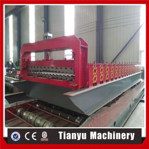 Tuile de tôle en acier ondulé Making Machine
