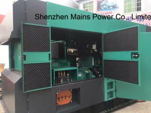 550Ква Cummins электрического топливного насоса двигателя MC550d5a звуконепроницаемых дизельного генератора