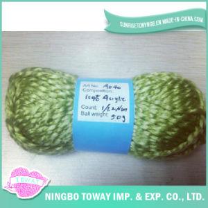 Luvas de aparecimento da luz de tecelagem de malhas de Fios de lã artesanais (lana)
