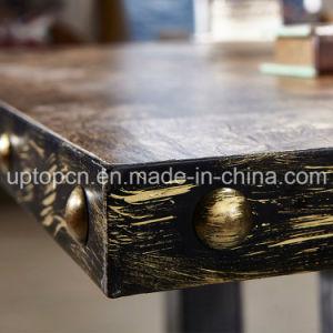 (SP-CT804) El restaurante de madera de estilo retro del tapizado de la silla y mesa
