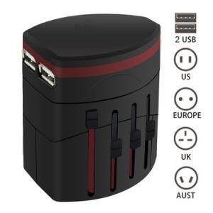 Cargador Dual 2.1A puerto USB cubre 150 países