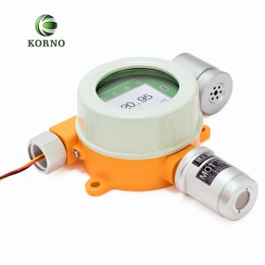 IP65 LCDの表示のホルムアルデヒドのガス警報(CH2O)