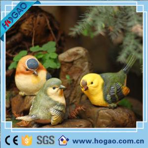 Som de resina Polyresin Jardim Controlada Figurine Duck Parrot Bird