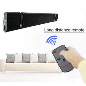 O modelo mais recente chegada Patio Aquecedor com colunas Bluetooth