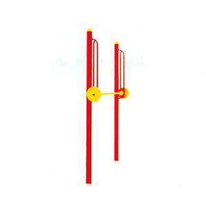 Forma fisica esterna progettata piacevole della scaletta superiore del Lomb