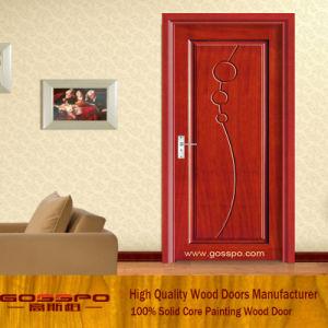 Singolo portello classico della camera da letto del MDF del foglio (GSP8-003)