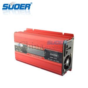 Suoer 12V 2000W에 의하여 변경되는 사인 파동 힘 변환장치 (SDB-2000A)