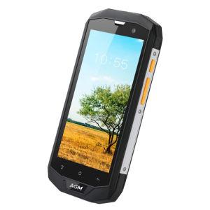 5.0 AGM van de Duim A8 IP68 de Waterdichte Kern 3GB+32GB van de Vierling van Qualcomm Msm8916 van de Telefoon Dubbele SIM Androïde Telefoon