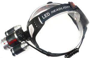 再充電可能な有料ヘッドランプをハンチングを起す10Wクリー族LEDのズームレンズの懐中電燈