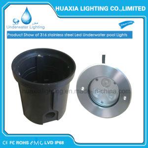 316 из нержавеющей стали IP68 встраиваемый светодиодный индикатор Подводные лампы на 9 Вт