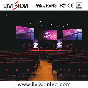 Caso a tela de exibição de vídeo LED Full LED de cor da parede interior P3.9 Vídeo Tela LED de aluguer
