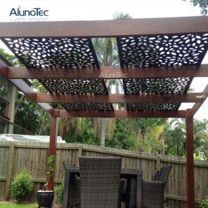 Décoration extérieure Plafond enduit PVDF Divers design en aluminium