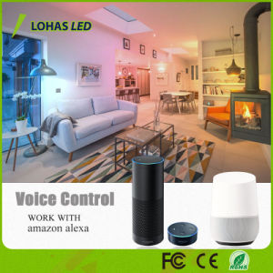 Google Alexa/Home/Tuya ampoule de feu contrôlée de l'app Smart MR16 5W WiFi Spotlight Ampoule LED RGB